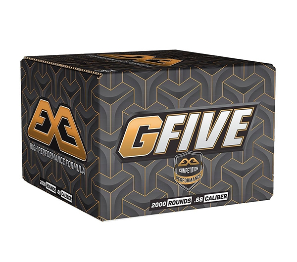 EXE GFive Tournament Paintballs