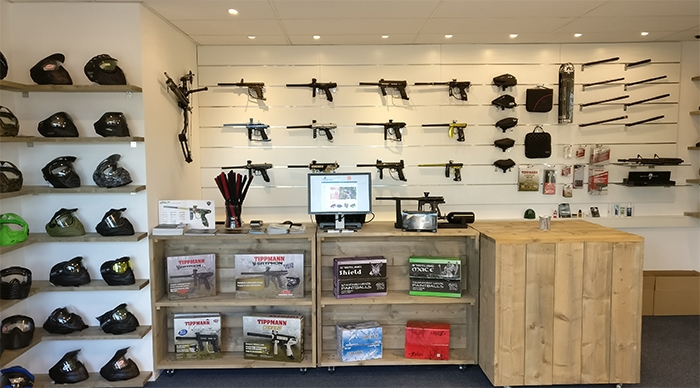 GoPaintball shop showroom