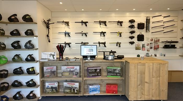 GoPaintball shop showroom