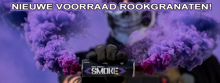 Nieuwe Voorraad Enola Gaye Rookgranaten