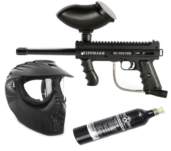 Tippmann 98 Platinum Series Paintball set