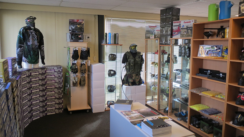 Paintball shop GoPaintball winkel