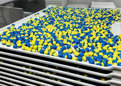 Paintballs productie maken
